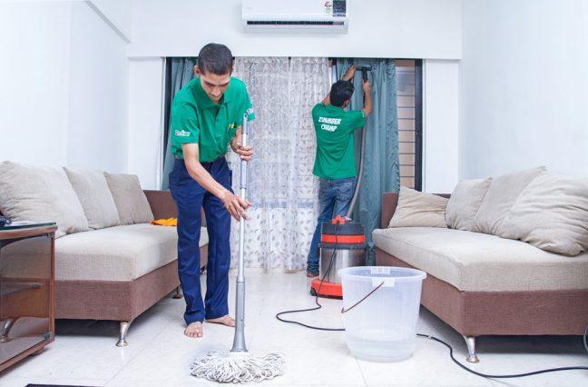Dịch vụ vệ sinh tại nhà ở TPHCM - GiDiVi